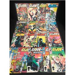 G.I JOE COMIC BOOK LOT (MARVEL COMICS)