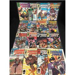 INDIANA JONES COMIC BOOK LOT (MARVEL COMICS)