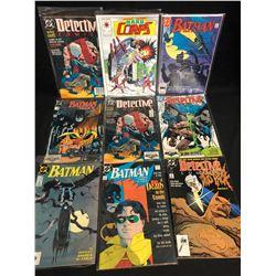 BATMAN/ DETECTIVE COMICS BOOK LOT (DC COMICS)