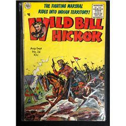 WILD BILL HICKOCK #24 (AVON PUBLICATION) 1950's