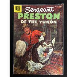 Sergeant Preston of the Yukon #17 (Dell Comics) 1956