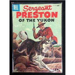Sergeant Preston of the Yukon #18 (Dell Comics) 1956