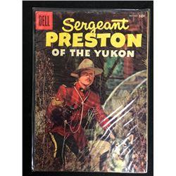 Sergeant Preston of the Yukon #19 (Dell Comics) 1956