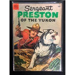 Sergeant Preston of the Yukon (Dell Comics)