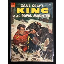 ZANE GREY'S KING OF THE ROYAL MOUNTED (DELL COMICS)