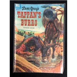 Zane Grey's Tappan's Burro #449 (Dell Comics) 1953
