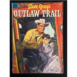ZANE GREY'S OUTLAW TRAIL #511 (DELL COMICS) 1953