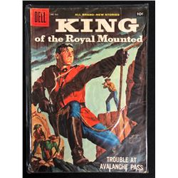 KING OF THE ROYAL MOUNTED #935 (DELL COMICS) 1958