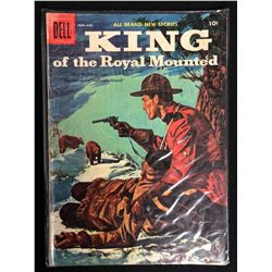 KING OF THE ROYAL MOUNTED (DELL COMICS)