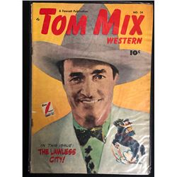 TOM MIX WESTERN #24 (FAWCETT PUBLICATION) 1949