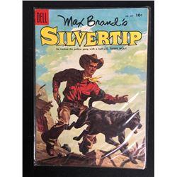MAX BRAND'S SILVERTRIP #637 (DELL COMICS) 1955