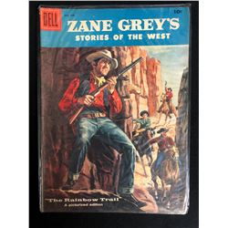 "ZANE GREY'S STORIES OF THE WEST ""THE RAINBOW TRAIL"" #36 (DELL COMICS) 1958"