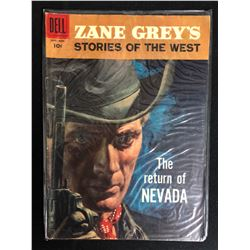 "ZANE GREY'S STORIES OF THE WEST ""THE RETURN OF NEVADA"" #39 (DELL COMICS) 1958"