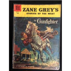 "ZANE GREY'S STORIES OF THE WEST ""THE GUNFIGHTER"" #28 (DELL COMICS) 1958"