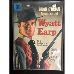 FAMOUS MARSHALL WYATT EARP #4 - GIANT OF DODGE CITY (DELL COMICS) 1958
