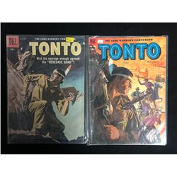 TONTO COMIC BOOK LOT (DELL COMICS)