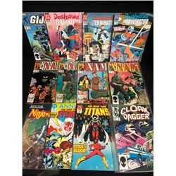 COMIC BOOK LOT (THE NAM/ THE NEW TEEN TITANS...)