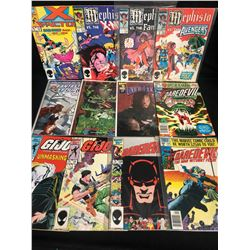 COMIC BOOK LOT (DAREDEVIL/ G.I JOE/ X-FACTOR...)