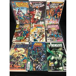 COMIC BOOK LOT (THE AVENGERS/ SPIDER-MAN)