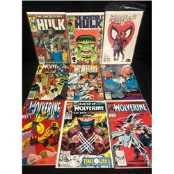 COMIC BOOK LOT (THE INCREDIBLE HULK/ WOLVERINE)
