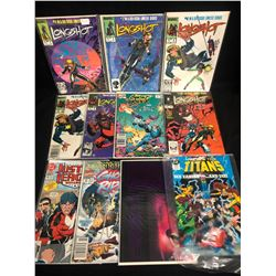 COMIC BOOK LOT (LONGSHOT/ GHOST RIDER...)