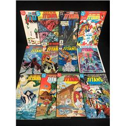 THE NEW TEEN TITANS COMIC BOOK LOT (DC COMICS)