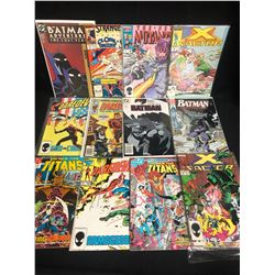 COMIC BOOK LOT (DAREDEVIL/ BATMAN/ X-FACTOR...)
