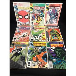 WEB OF SPIDER-MAN COMIC BOOK LOT (MARVEL COMICS)