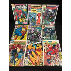 SPIDER-MAN COMIC BOOK LOT (MARVEL COMICS)