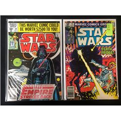 STAR WARS COMIC BOOK LOT (MARVEL COMICS)