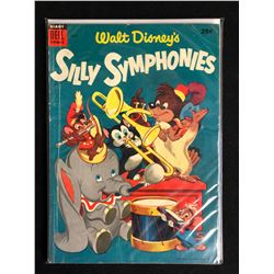 WALT DISNEY'S SILLY SYMPHONIES #4 (DELL COMICS)