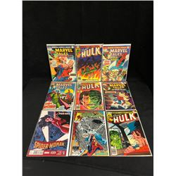COMIC BOOK LOT (MARVEL TALES/ HULK...)