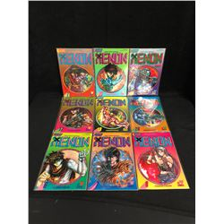 XENON COMIC BOOK LOT (ECLIPSE COMICS)