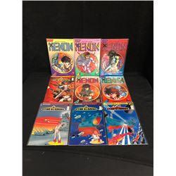 XENON/ STAR BLAZERS COMIC BOOK LOT