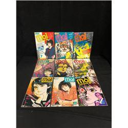MAI THE PSYCHIC GIRL COMIC BOOK LOT (ECLIPSE COMICS)