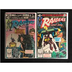 RAIDERS OF THE LOST ARK COMIC BOOK LOT (MARVEL COMICS)