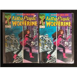 KITTY PRYDE AND WOLVERINE #1 COMIC BOOK LOT (MARVEL COMICS)