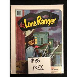 THE LONE RANGER #88 (DELL COMICS) 1955