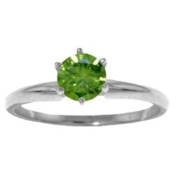 Genuine 0.50 ctw Diamond Anniversary Ring Jewelry 14KT White Gold - REF-132N9R