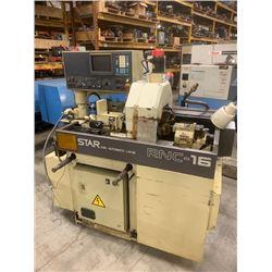 STAR RNC-16 CNC SWISS SCREW MACHINE FANUC OT CONTROL