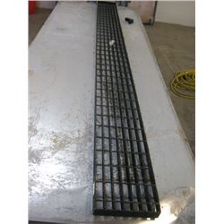 12 FOOT METAL CATWALK GRATE