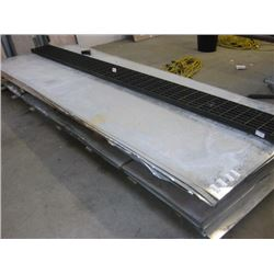 5X12 SHEET 24 GUAGE GALVANIZED METAL