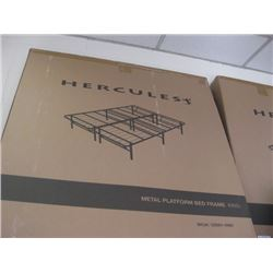 HERCULES KING METAL BED FRAME
