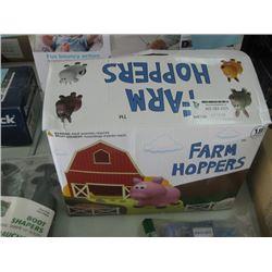 FARM HOPPERS TOY HOPPER