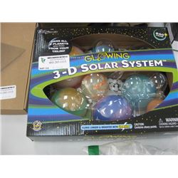 3 D SOLAR SYSTEM