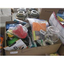 BOX OF MISC PET SUPPLIES