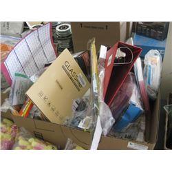 BOX OF MISC HOUSEWARES
