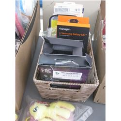 BOX OF CELLPHONE CASES