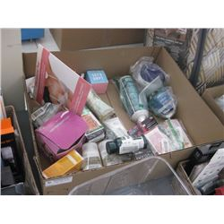 BOX OF BEAUTY PRODUCTS