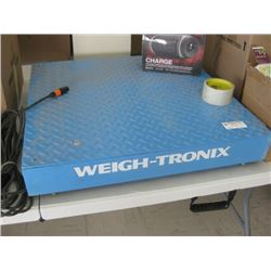 WEIGHT TRONIX HEAVY DUTY WEIGHT SCALE